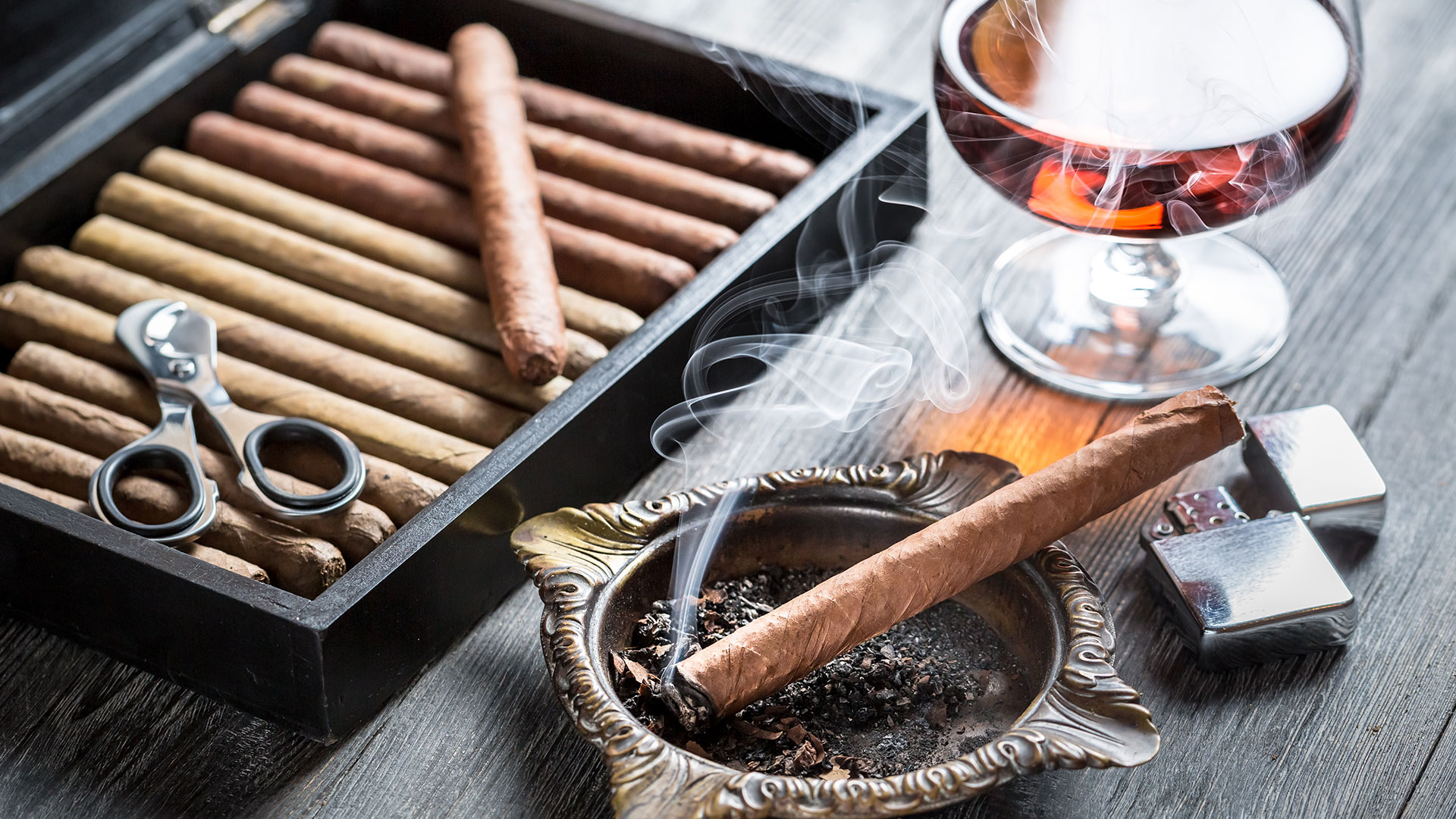 How to Self Isolate as a Cigar Smoker