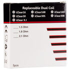 iClear 16 Dual Coil Replacement, , jrcigars