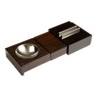 Sliding Ashtray w/ Hidden Humidor, , jrcigars