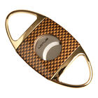 Lotus Jaws Gold & Carbon Fiber Serrated Cutter, , jrcigars