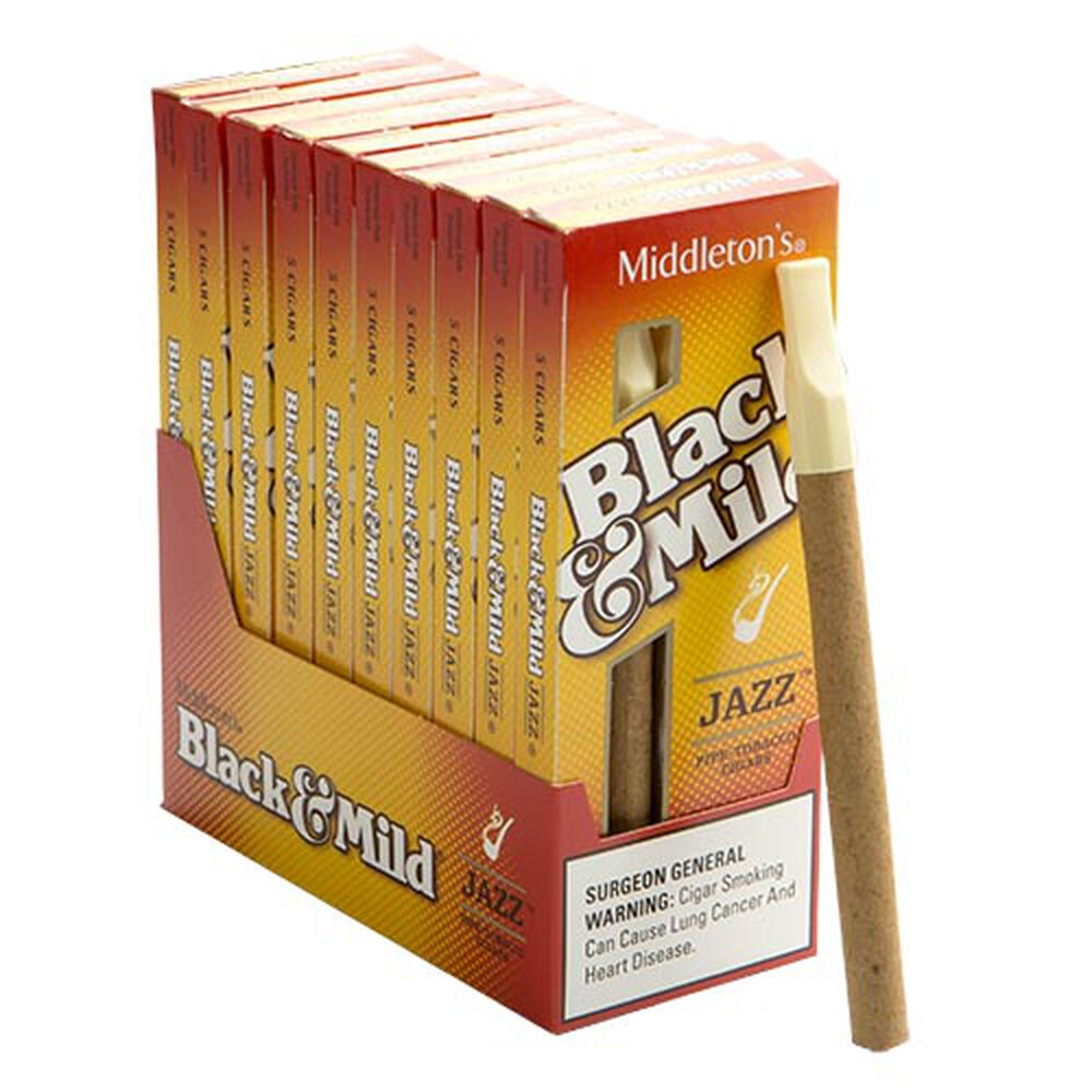 Jazz Black & Mild Cigars | Machine Made Cigars | JR Cigars