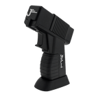 DT-500 Black and Black Quad Flame Lighter, , jrcigars