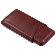 Legend Brown Genuine Leather Cigar Case - 3 Cigars, , jrcigars