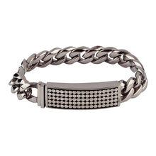Stainless Coaster Bracelet 8.5 In., , jrcigars