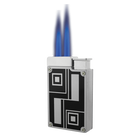 Prestige Silver/Black Dual Flame, , jrcigars