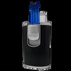 DT-101 Black Carbon Fiber Quad Flame, , jrcigars
