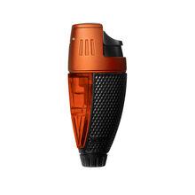 Talon Single Jet Lighter Black and Orange, , jrcigars