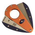 Orange & Navy Blue XI1 Double-Bladed Guillotine, , jrcigars