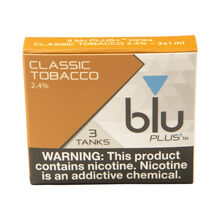 PLUS+ Classic Tobacco Pre-filled Tank, , jrcigars