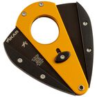 Gold & Black Cutter XI1 Double-Bladed Guillotine, , jrcigars