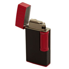 Julius Classic Black and Red Flint Lighter, , jrcigars