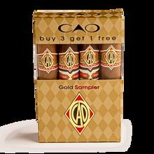 CAO Gold 4-Cigar Sampler, , jrcigars