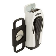 Boss White and Black Triple Jet Lighter, , jrcigars