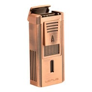 Duke Lighter w/ Copper Serrated V-Cut, , jrcigars