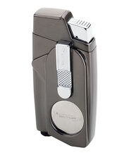 Xcaliber Gunmetal Satin Lighter, , jrcigars