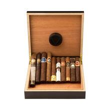10 Cigars & Humidor, , jrcigars