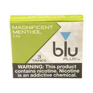 PLUS+ Magnificent Menthol Pre-filled Tank, , jrcigars