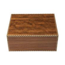 Ashton Marquis Caramel Elm Wood Humidor Medium, , jrcigars