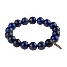 Stainless Beads Lapis 10MM Bracelet, , jrcigars