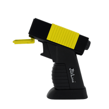 DT-500 Yellow and Black Quad Flame Lighter, , jrcigars