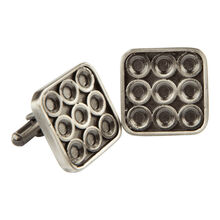 Stainless Infinity Cufflinks, , jrcigars