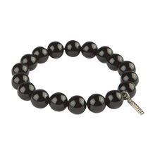 Stainless Beads Agate 10MM Bracelet, , jrcigars