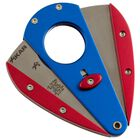 Blue & Red XI1 Double-Bladed Guillotine, , jrcigars