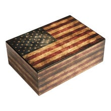 Old Glory Cigar Humidor