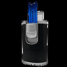 DT-101 Black Carbon Fiber Quad Flame Lighter, , jrcigars