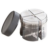Humi-Care 8oz. Black Ice Pie Jar, , jrcigars