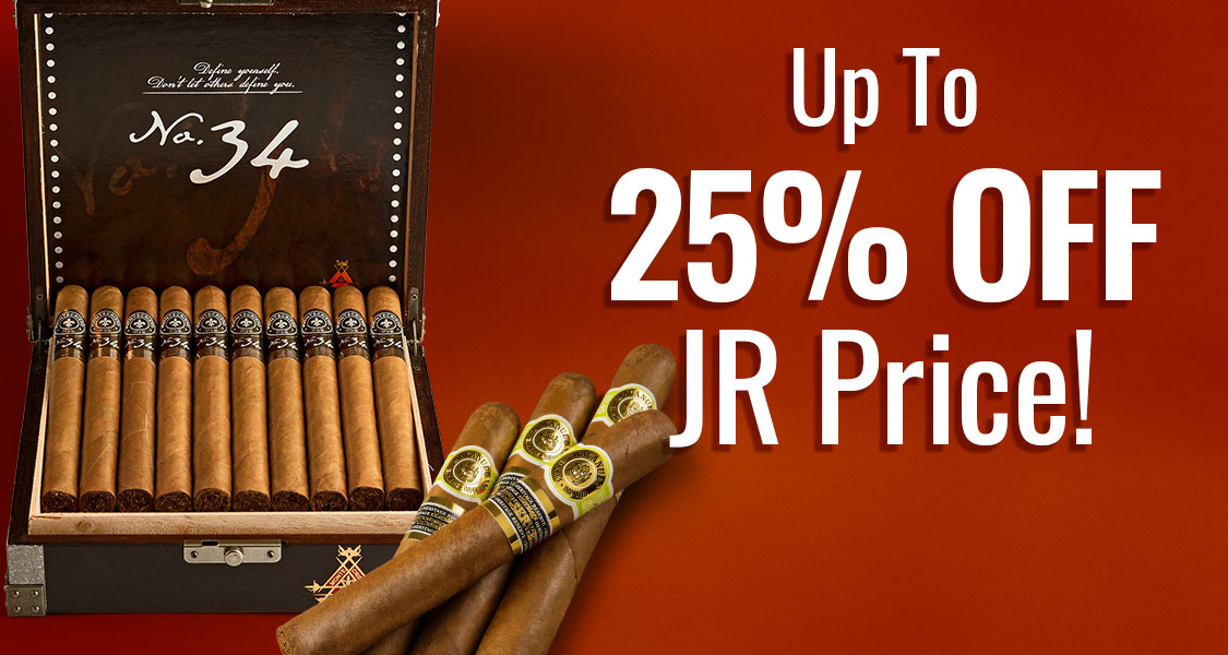 Get Up To 25% Off JR Price