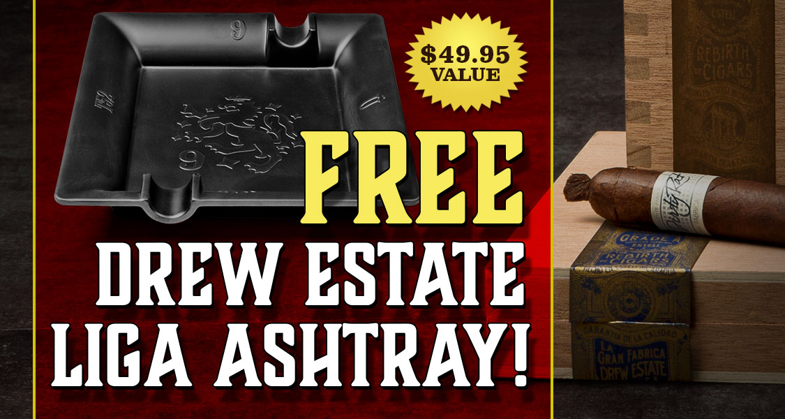Free Drew Estate Liga Ashtray
