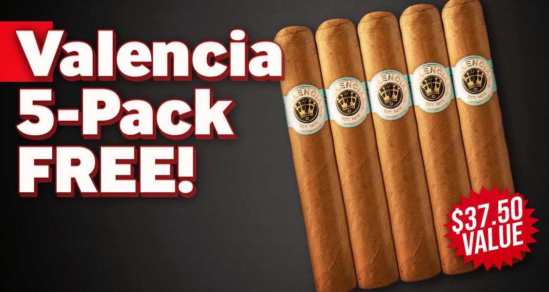 Valencia 5-Pack Free