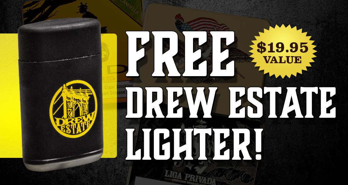 Free Drew Estate Lighter