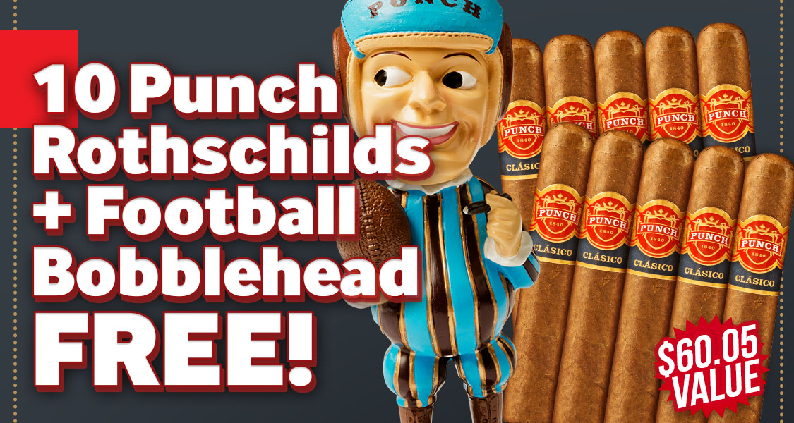 Punch 10-Pack + Bobblehead Free!