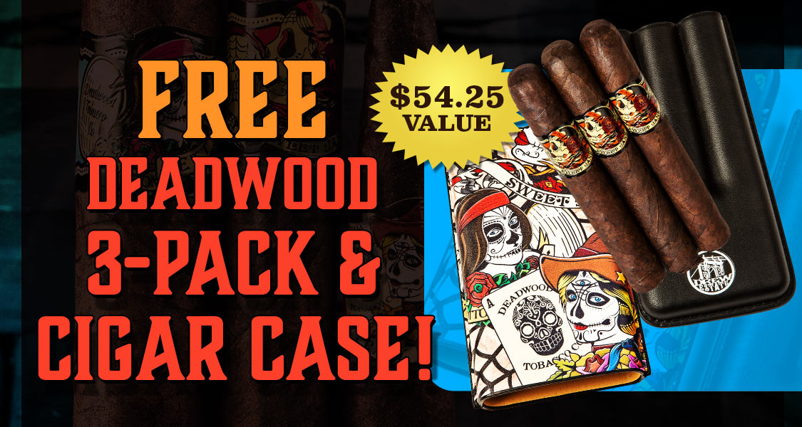Free Deadwood 3-Pack & Case