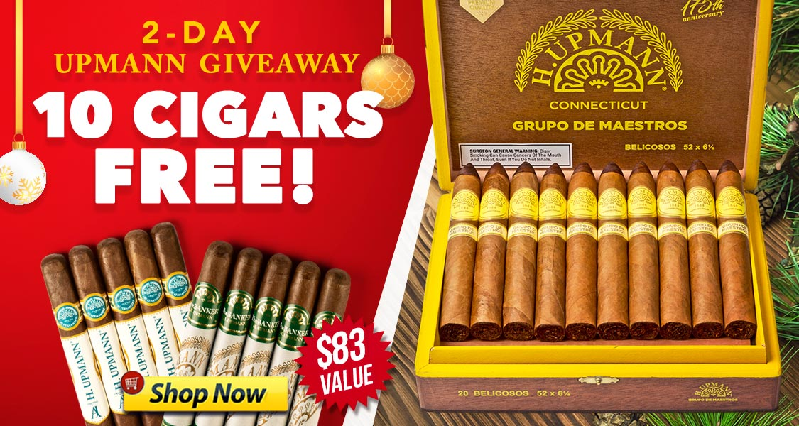 2-Day Upmann Giveaway