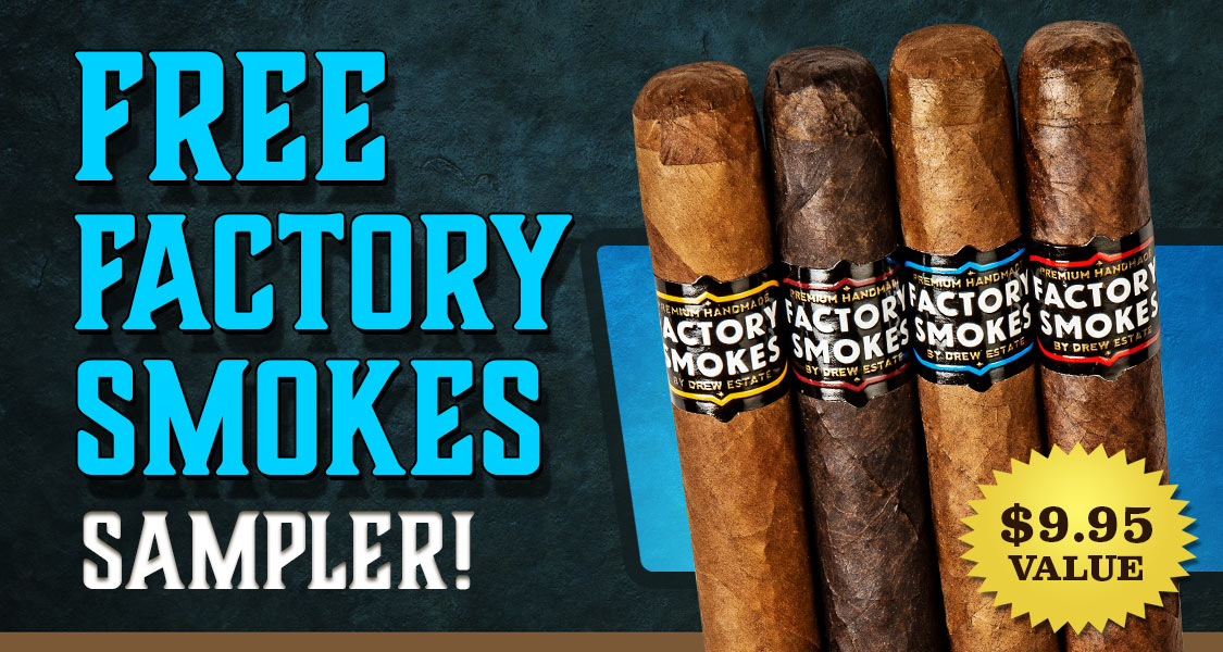 Free Factory Smokes Sampler
