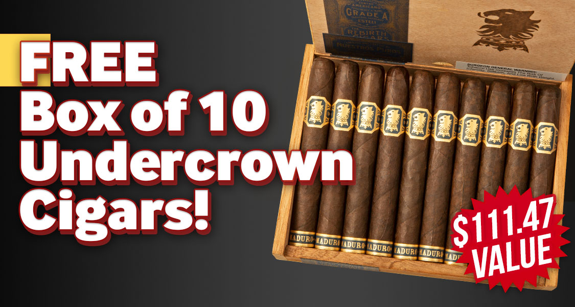 Box of 10 Undercrown Free