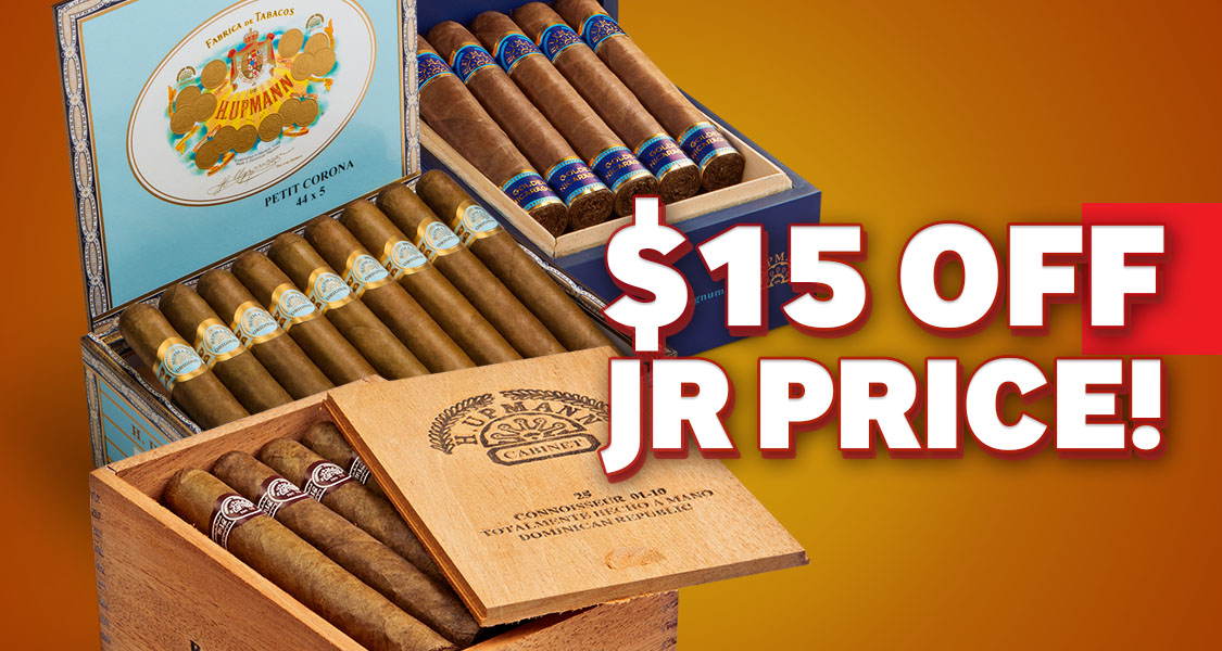 $15 Off H. Upmann Cigars