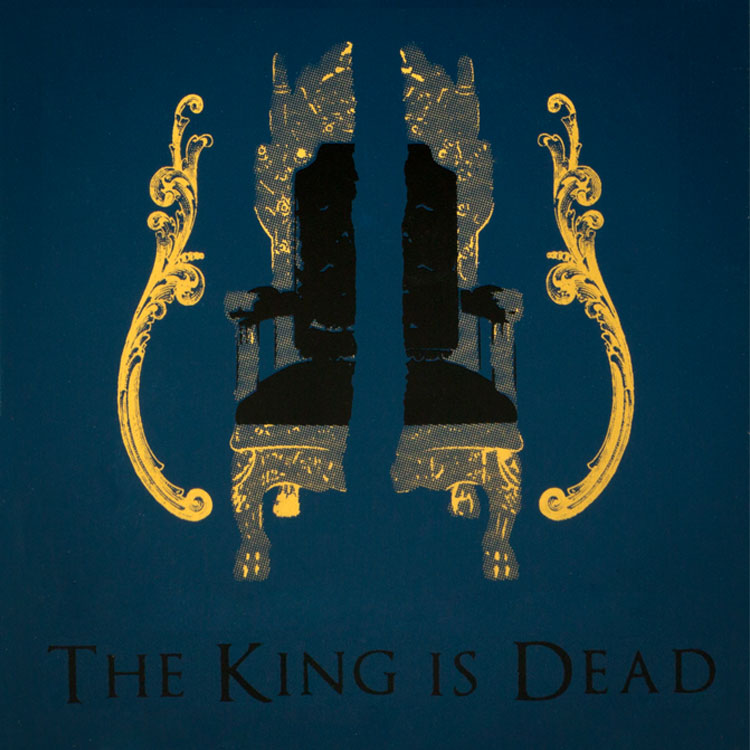 The King Is Dead by Robert Caldwell