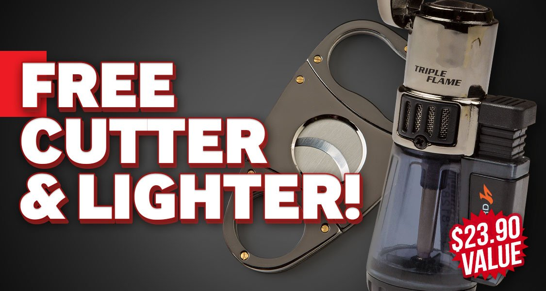 Free Lighter & Cutter