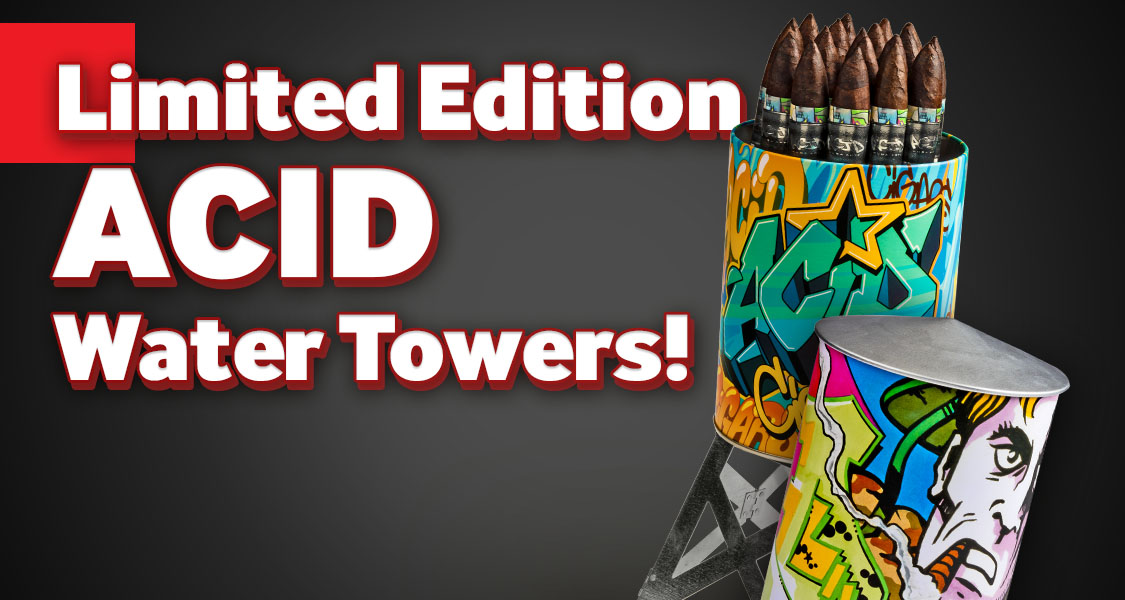 Limited Edition ACID Water Towers