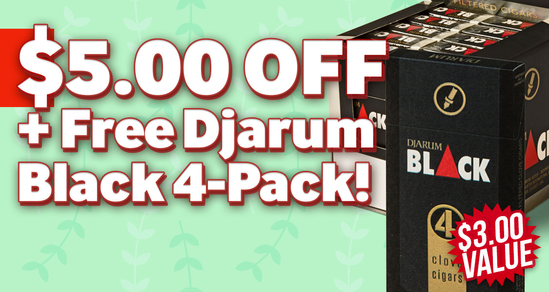 $5.00 Off + 4-Pack Free