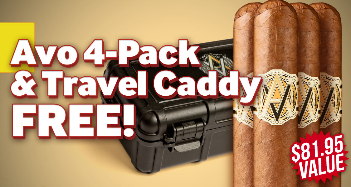 4-Pack + Caddy Free