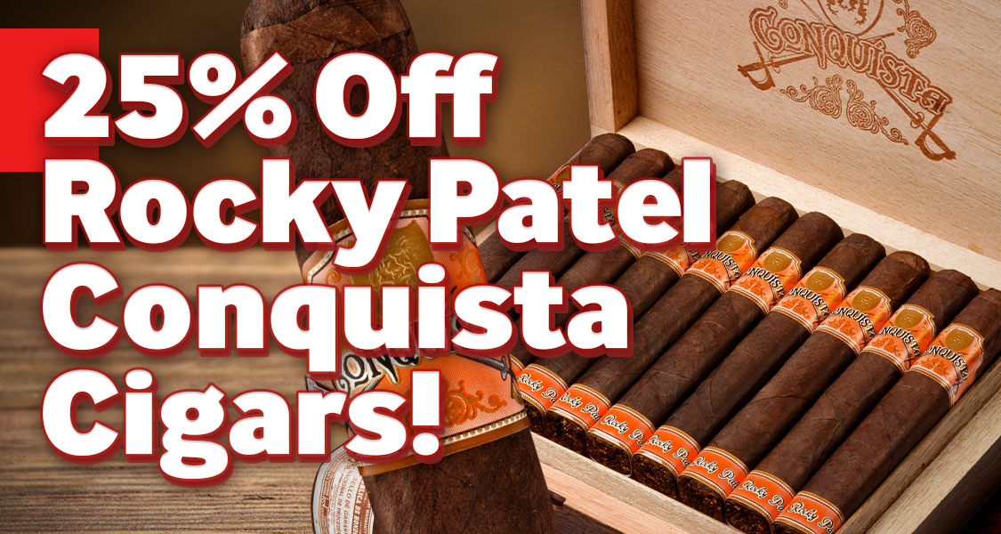 25% Off Rocky Patels