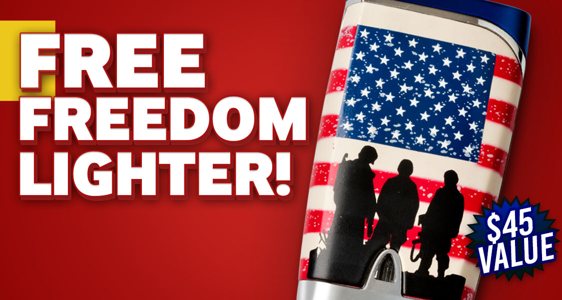 Free Rocky Patel Freedom Lighter
