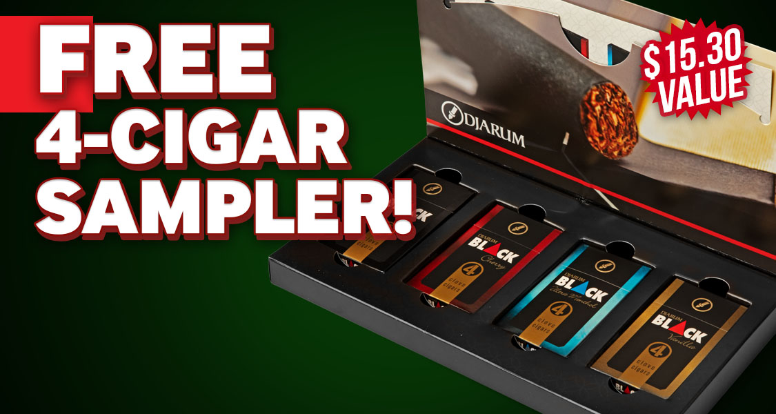 Free Djarum 4-Pack