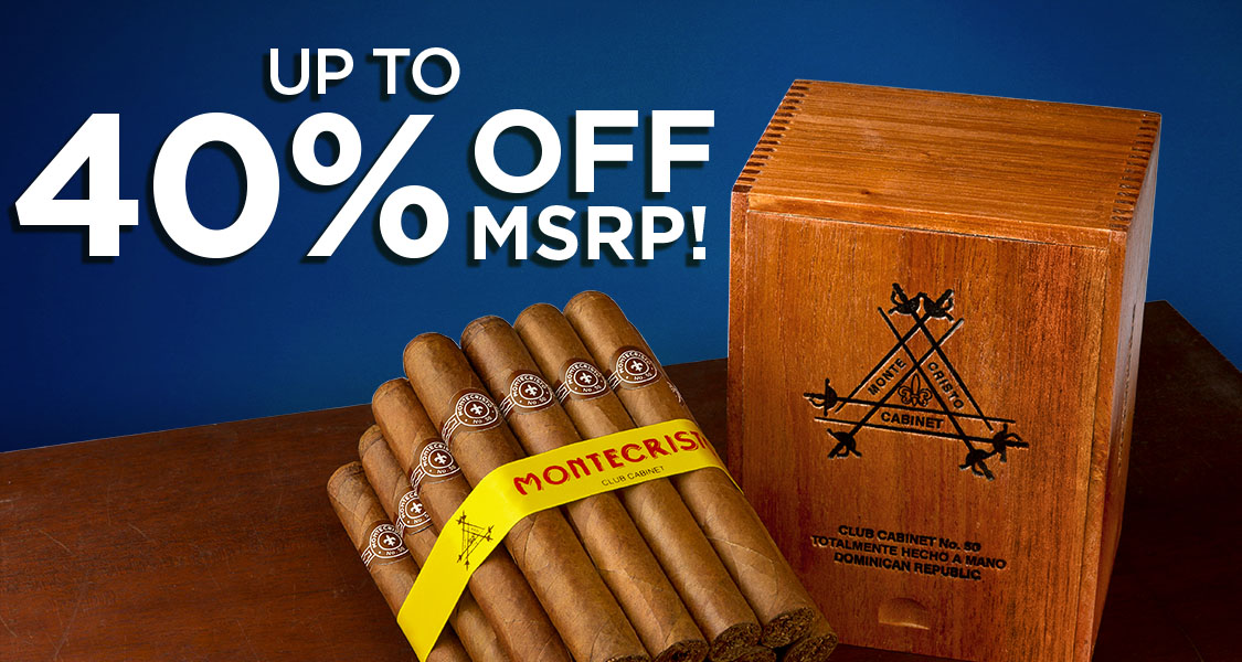 Save Up To 40% Off MSRP