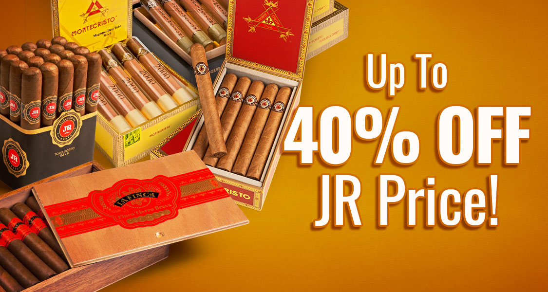 Up To 40% Off JR Price